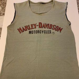Harley Davidson muscle tee